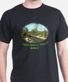 saguaro monument roadway T-Shirt