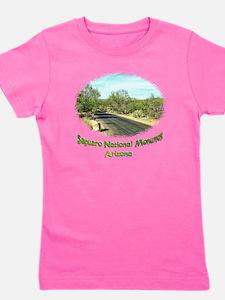 saguaro monument roadway Girl's Tee