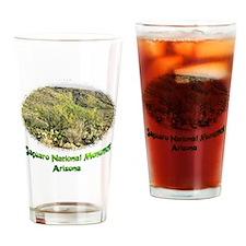 desert scenery Drinking Glass