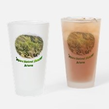 desert scenery Drinking Glass