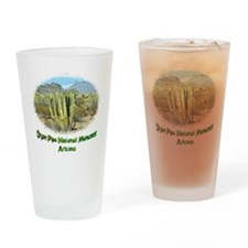organ pipe monument Drinking Glass