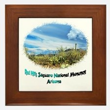 Red Hills Natl Monument 2 Framed Tile