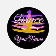 Dance Customizeable 3.5&Quot; Button