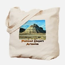 Painted Desert Octopus hill Tote Bag