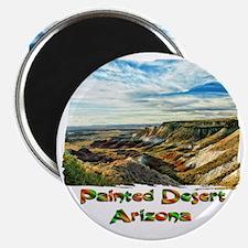 Color Painted Desert Magnet