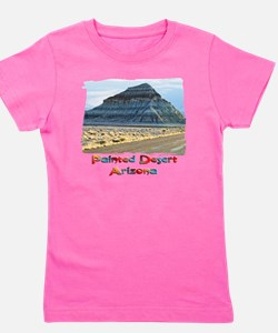 blue painted desert Girl's Tee