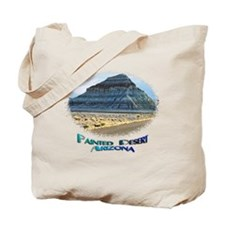 Blue Painted Desert Tote Bag