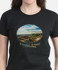color painted desert Tee