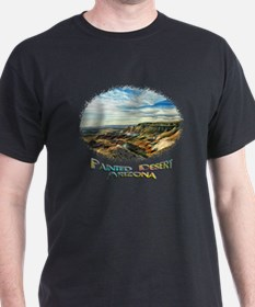 color painted desert T-Shirt