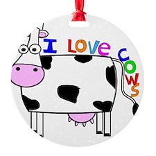 I love Cows KIDS Ornament