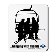 hanging-with-friends Mousepad