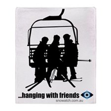 hanging-with-friends Throw Blanket