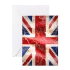 475 Union Jack Flag iPhone 3G case Greeting Card