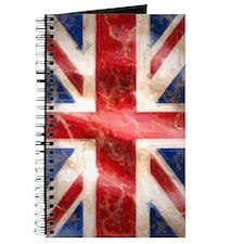 475 Union Jack Flag iPhone 3G case Journal