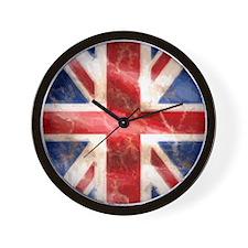 475 Union Jack Flag iPad 2 Wall Clock