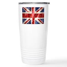 475 Union Jack Flag laptop skin Travel Mug