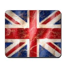 475 Union Jack Flag laptop skin Mousepad