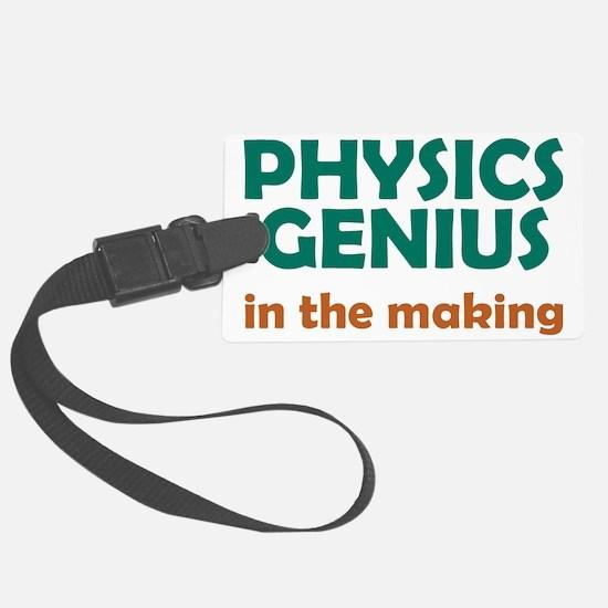 physicsgen Luggage Tag