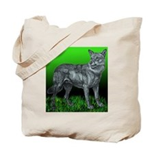 Laceys Wolf Tote Bag