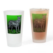 Laceys Wolf Drinking Glass
