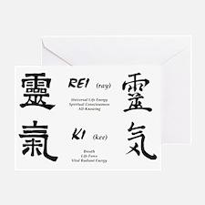 reiki-symbol Greeting Card