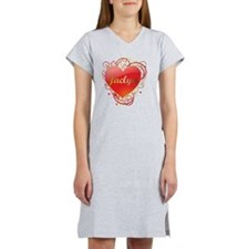 Jaclyn-Valentines Women's Nightshirt