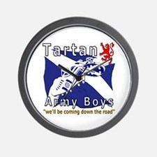 Tartan Army Boys_Coming 2012 Wall Clock