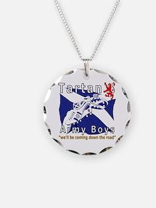 Tartan Army Boys_Coming 2012 Necklace