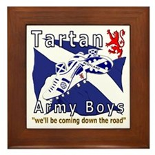 Tartan Army Boys_Coming 2012 Framed Tile