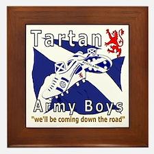 Tartan Army Boys_Coming 2012 Framed Tile