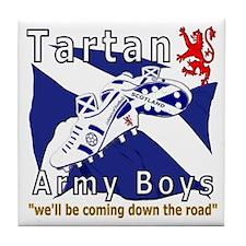 Tartan Army Boys_Coming 2012 Tile Coaster