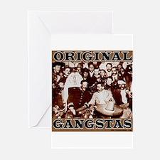 Original Gangstas Greeting Cards (Pk of 10)