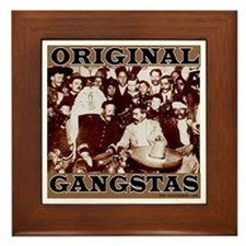 Original Gangstas Framed Tile