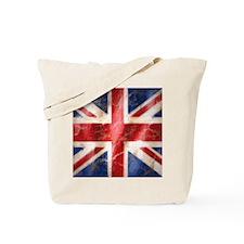 475 Union Jack Flag 16 inch square Tote Bag