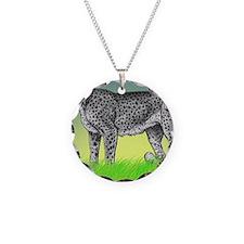 jake serwa Necklace Circle Charm