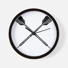 crossed_darts Wall Clock