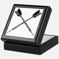 crossed_darts Keepsake Box