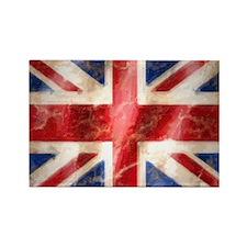 475 Union Jack Flag stadium blank Rectangle Magnet