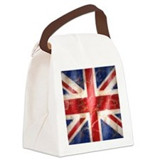 475 Union Jack Flag stadium blank Canvas Lunch Bag
