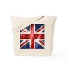 475 Union Jack Flag puzzle Tote Bag