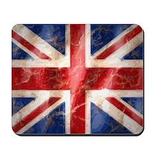 475 Union Jack Flag puzzle Mousepad
