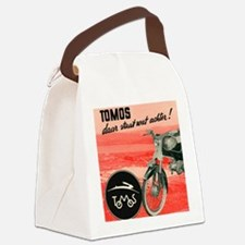 VINTAGE TOMOS MOPED Canvas Lunch Bag