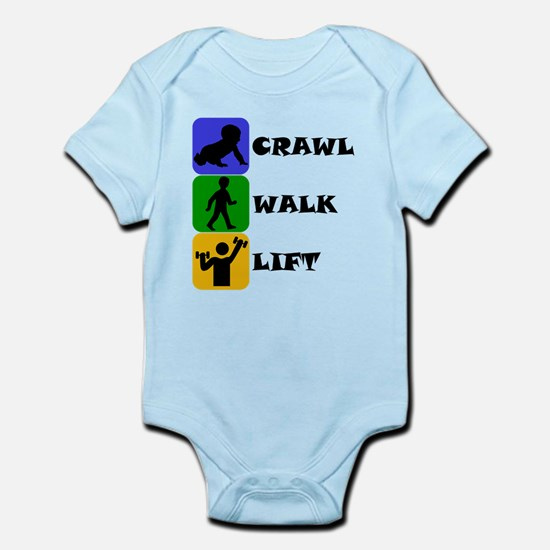 Crawl Walk Lift Body Suit
