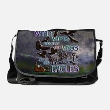 wings eagle pc Messenger Bag