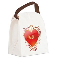 Dolly-Valentines Canvas Lunch Bag