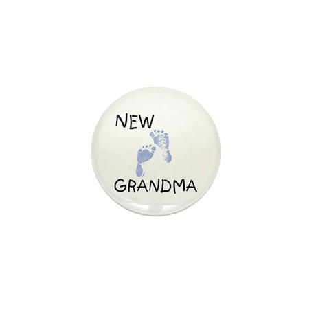 New Grandma (blue) Mini Button
