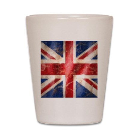 475 Union Jack Flag mousepad Shot Glass