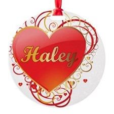 Haley-Valentines Ornament