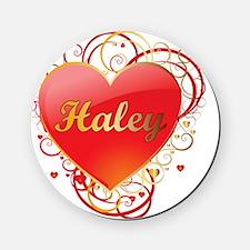 Haley-Valentines Cork Coaster