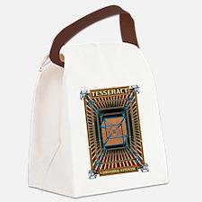 TESSERACT_HYPERCUBE_c Canvas Lunch Bag